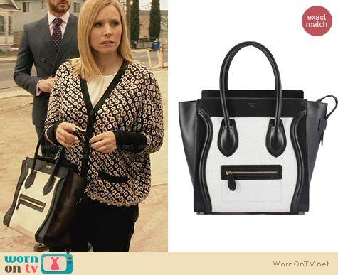 celine clutch pouch price - WornOnTV: Jeannie\u0026#39;s flower printed cardigan and black and white ...