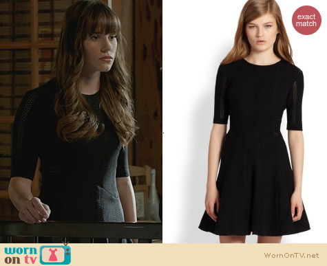Fashion of Revenge: Rag & Bone Niki Pointelle Dress worn by Christa Allen
