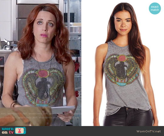 Chaser Scarab Tank worn by Alanna Ubach on GG2D