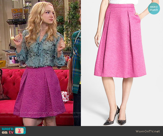 Chelsea28 Full Pleat Skirt worn by Liv Rooney on Liv & Maddie