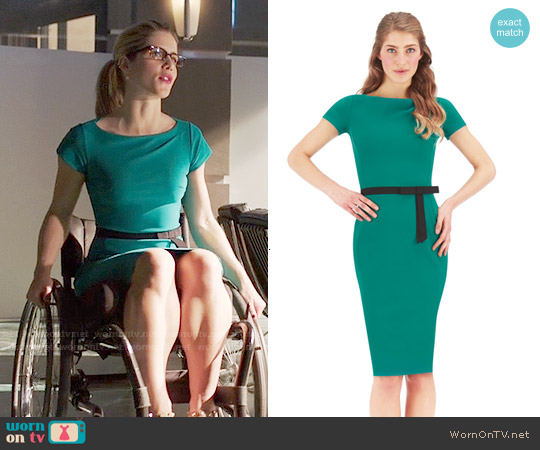 La Petite Robe di Chiara Boni Felipa Dress worn by Emily Bett Rickards on Arrow