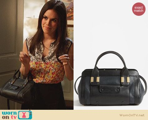 Chloe Alice Tote worn by Rachel Bilson on Hart of Dixie