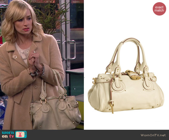 Chloe Paddington Bag worn by Beth Behrs on 2 Broke Girls
