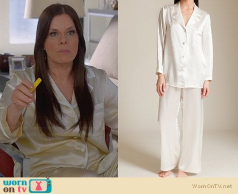 Christine Bijoux Pajamas worn by Marcia Gay Harden on Trophy Wife