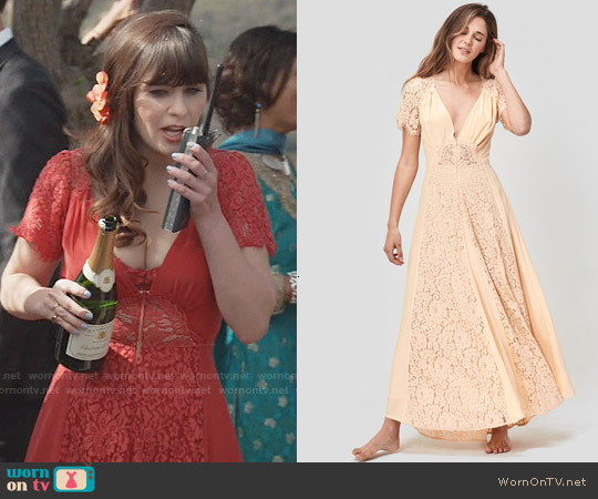 Christy Dawn Fitzgerald Dress worn by Zooey Deschanel on New Girl