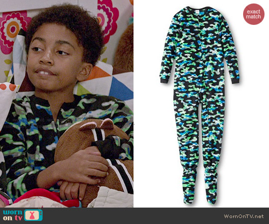 WornOnTV: Jack's Camo Pajamas On Black-ish