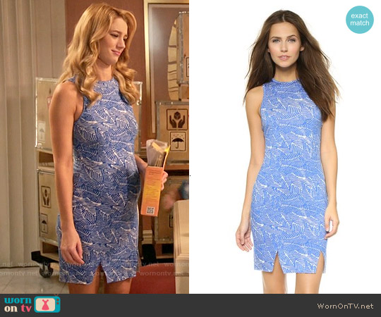 Clayton Lily Dress worn by Yael Grobglas on Jane the Virgin