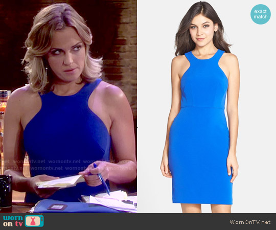 Clove Stretch Sheath Dress worn by Kelly Sullivan on The Young & the Restless