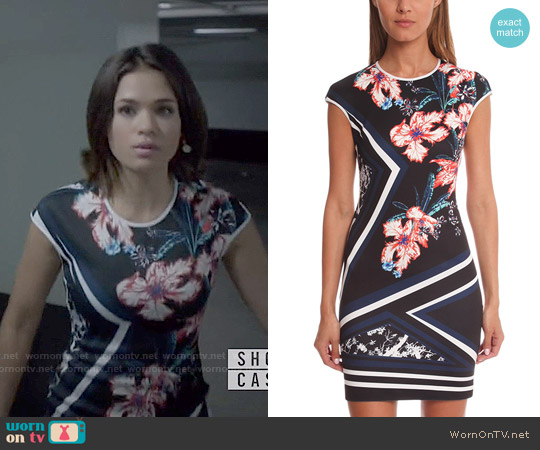 Clover Canyon Modern Romance Dress worn by Nicole Gale Anderson on Beauty & the Beast