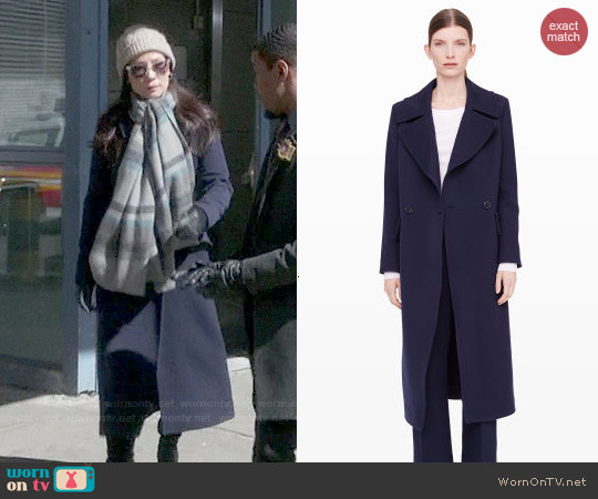Club Monaco Avani Coat worn by Lucy Liu on Elementary