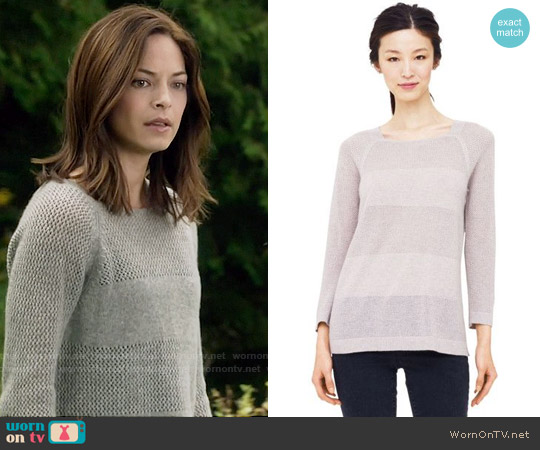 Club Monaco Carlotta Sweater worn by Kristin Kreuk on Beauty & the Beast