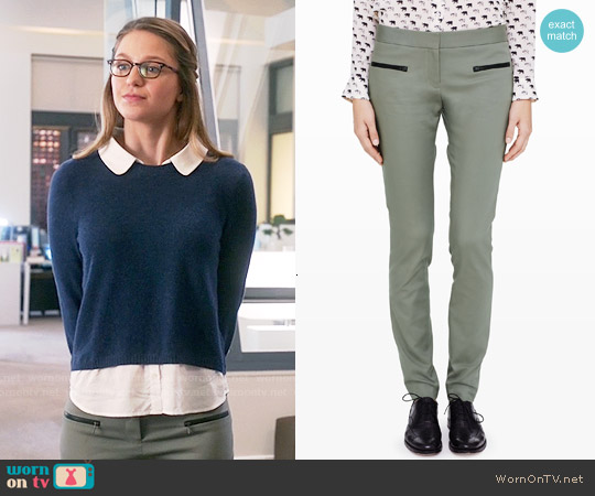 Club Monaco Emily Pants worn by Kara Danvers on Supergirl