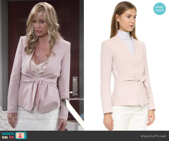 Club Monaco Itzel Jacket worn by Eileen Davidson on The Young & the Restless