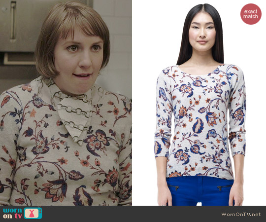 Club Monaco Mia Sweater worn by Lena Dunham on Girls