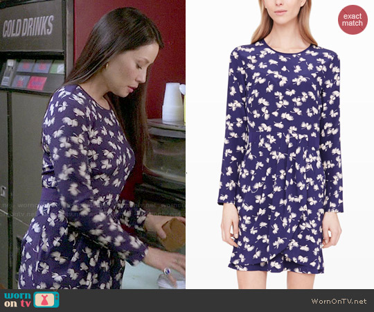 Club Monaco Paget Dress worn by Lucy Liu on Elementary