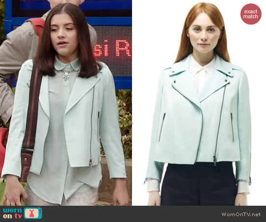 Club Monaco Ramona Jacket worn by Ana Golja on Degrassi: The Next Generation