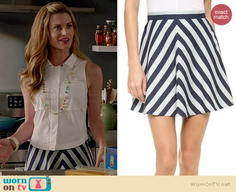 Club Monaco Renay Skirt worn by Brooke D'Orsay on Royal Pains