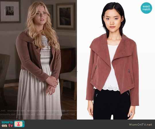 Club Monaco Richi Jacket worn by Sasha Pieterse on PLL
