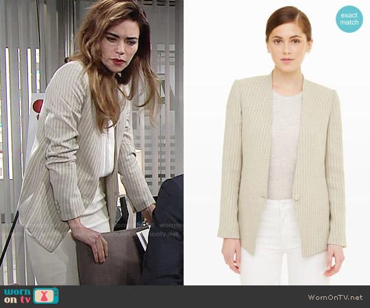 Club Monaco Scarletta Blazer worn by Amelia Heinle on The Young & the Restless