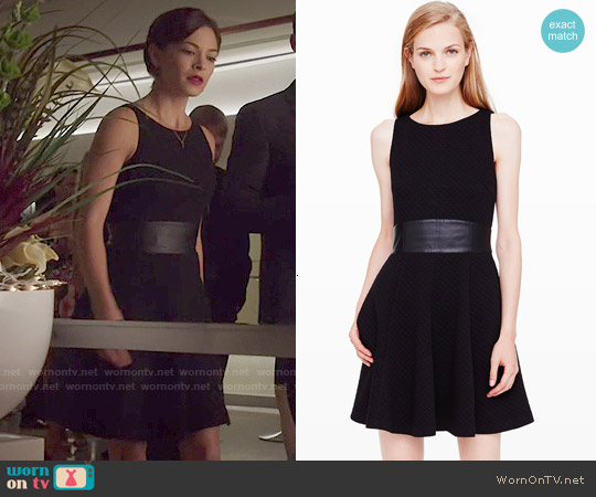 Club Monaco Tabitha Dress worn by Kristin Kreuk on Beauty & the Beast