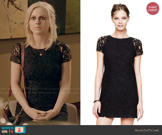 Club Monaco Witherbee Dress worn by Rose McIver on iZombie