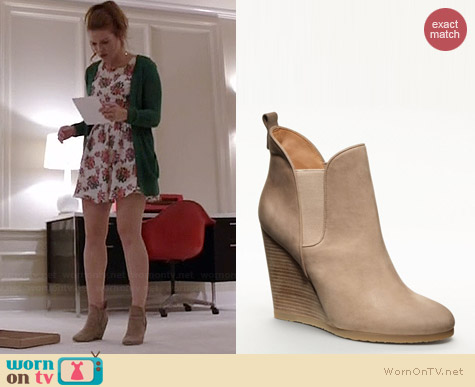 Coach Farrah Bootie in Cobblestone worn by Holland Roden on Teen Wolf