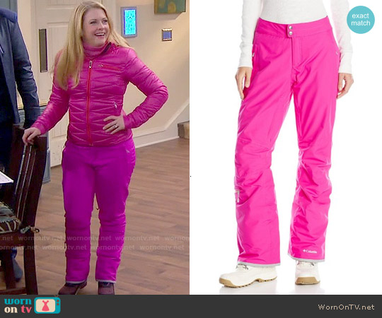 Columbia Veloca Vixen Pant worn by Melissa Joan Hart on Melissa & Joey