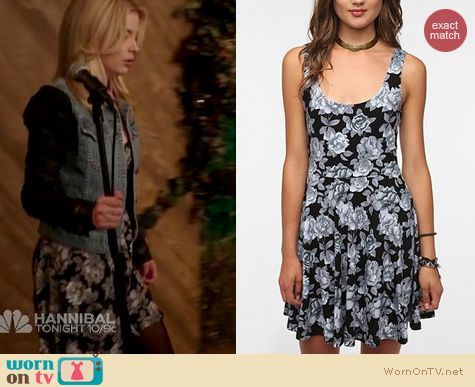 Community Fashion: Urban Outfitters Sparkle and Fade knit print dress worn by Gillian Jacobs