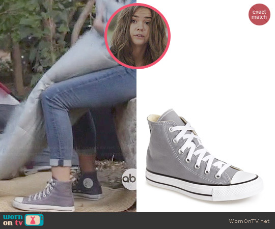 Converse Chuck Taylor Hi-top Sneakers worn by Maia Mitchell on The Fosters