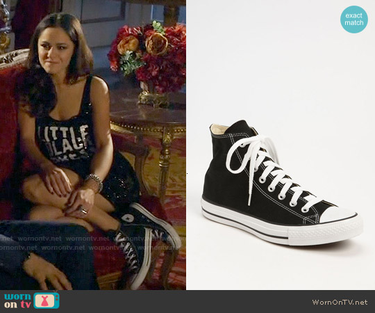 Converse Chuck Taylor High Top Sneakers worn by Princess Eleanor on The Royals