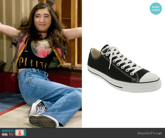 Converse Chuck Taylor Low Sneakers worn by Rowan Blanchard on Girl Meets World