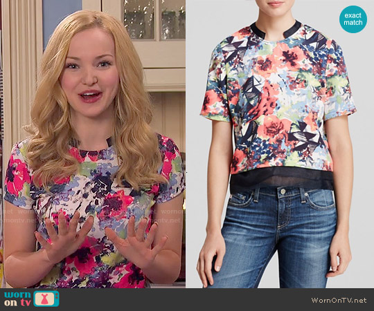 Cooper &am; Ella Elizabeth Top worn by Dove Cameron on Liv & Maddie