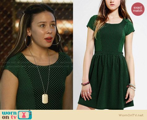 Cooperative School House Dress from Urban Outfitters worn by Malese Jow on Star-Crossed