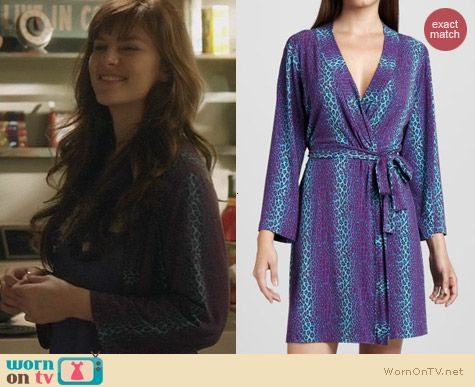 Cosabella Anouck Robe worn by Aubrey Peeples on Nashville