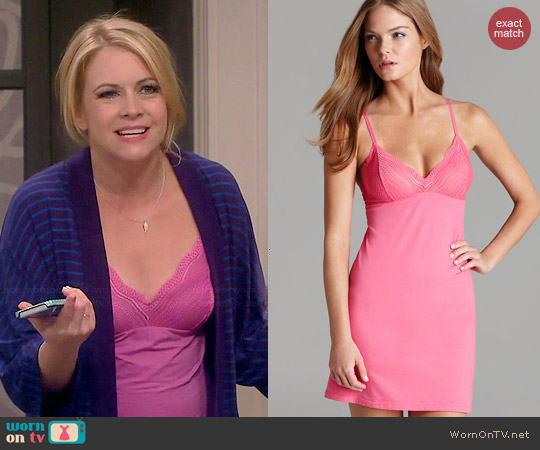 Cosabella Dolce Babydoll worn by Melissa Joan Hart on Melissa & Joey