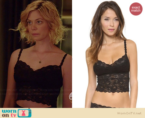 Cosabella Never Say Never Cropped Cami worn by Analeigh Tipton on Manhattan Love Story