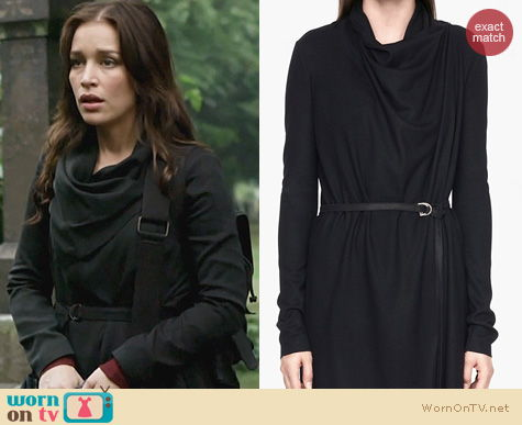 Covert Affairs Fashion: Helmut Lang Sonar Wool Cardigan worn by Piper Perabo