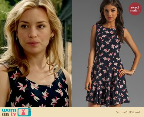Covert Affairs Fashion: Joie Merina dress worn by Piper Perabo