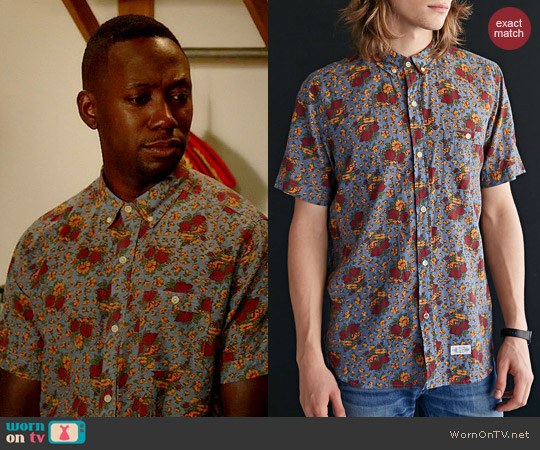 CPO Kennett Shirt worn by Lamorne Morris on New Girl
