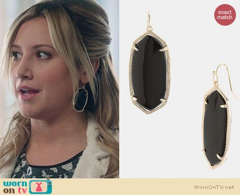 The Crazy Ones Fashion: Kendra Scott Elle Earrings worn by Ashley Tisdale