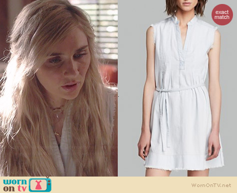 Current/Elliott Cratsman Denim Dress worn by Clare Bowen on Nashville