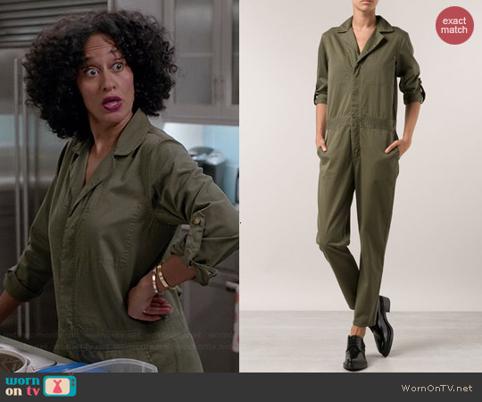 Current/Elliott Mechanic Jumpsuit worn by Tracee Ellis Ross on Black-ish