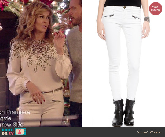 Current/Elliott Soho Skinny Jeans worn by Rayna James on Nashville