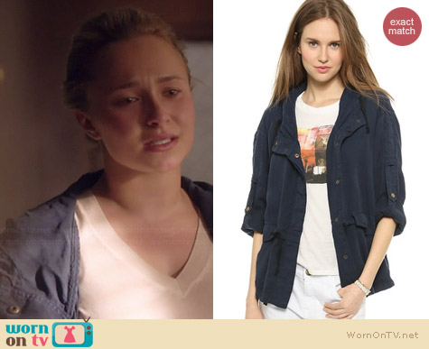 Current/Elliott Summer Parka worn by Hayden Panettiere on Nashville