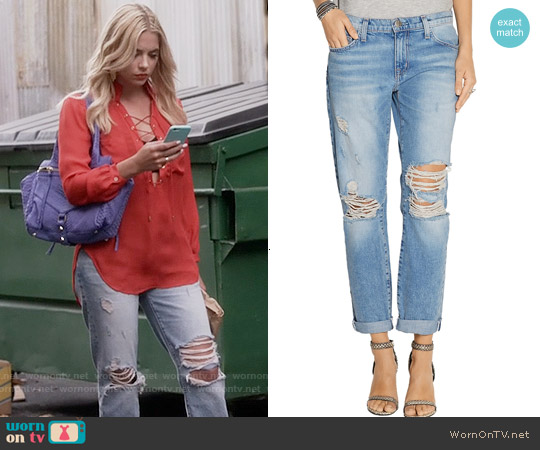 Current/Elliott The Fling Boyfriend Jeans worn by Hanna Marin on PLL