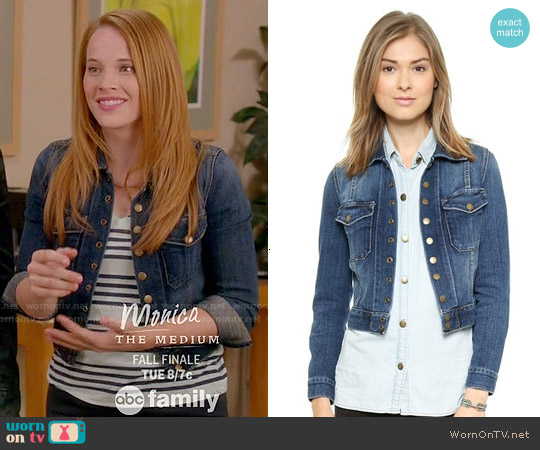Current/Elliott The Snap Jacket worn by Daphne Vasquez on Switched at Birth