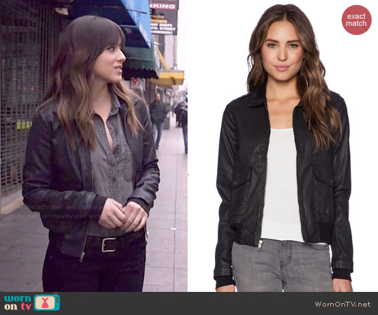 Current/Elliott The Southside Bomber Jacket worn by Skye/Daisy on Agents of SHIELD