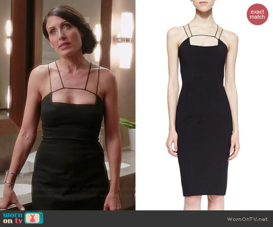 Cushnie et Ochs Cutout Sheath Dress worn by Lisa Edelstein on GG2D