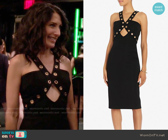 Cushnie et Ochs Sleeveless Dress with Grommets worn by Lisa Edelstein on GG2D