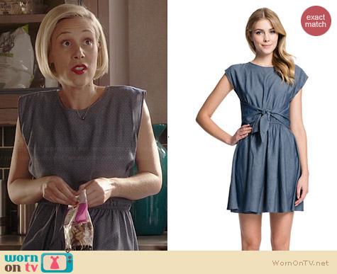 Cynthia Steffe Edina Dress worn by Liza Weil on HTGAWM